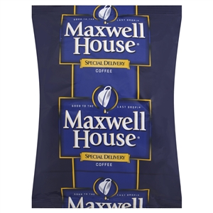Kraft Nabisco Maxwell House Special Delivery Caffeinated Office Service Coffee - 1.4 Oz.