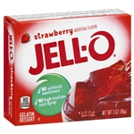 Kraft Nabisco Jello Strawberry Gelatin - 3 Oz.