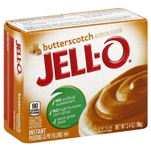 Kraft Nabisco Jello Instant Butterscotch Pudding - 3.4 Oz.