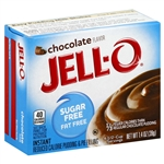 Kraft Nabisco Jello Sugar Fat Free Instant Chocolate Pudding - 1.4 Oz.