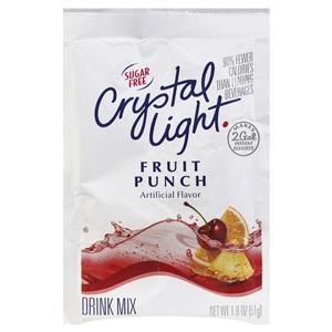 Kraft Nabisco Crystal Light Fruit Punch Beverage - 1.8 Oz.