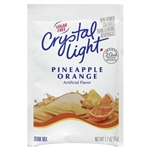 Kraft Nabisco Crystal Light Pineapple Orange Beverage Mix - 1.7 Oz.