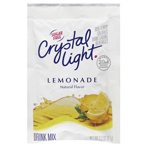 Kraft Nabisco Crystal Light Lemonade Mix - 2.2 Oz.