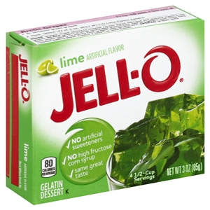 Kraft Nabisco Jello Lime Gelatin - 3 Oz.