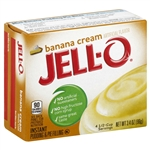 Kraft Nabisco Jello Instant Banana Pudding - 3.4 Oz.