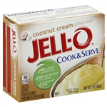 Kraft Nabisco Jello Pudding and Pie Filling Coconut Cook and Serve - 24 Oz.