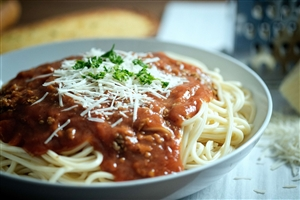 Vanee Foods Spaghetti With Meat Sauce - 105 Oz.