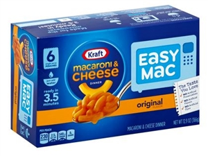 Kraft Nabisco Easy Macaroni and Cheese Single Serve Entree - 12.9 Oz.