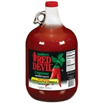 Red Devil Hot Buffalo Style Glass Sauce - 1 Gal.
