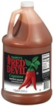 B and G Foods Red Devil Hot Original 1 Gallon Plastic Sauce