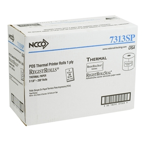 National Checking Register Roll Tape Thermal Paper White - 3.13 in.