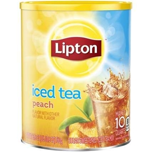 Peach Tea with Sugar - 28.3 Oz.