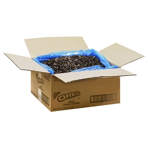 Kraft Nabisco Oreo Small Crunch Pieces With Filling - 25 Lb.