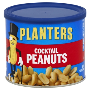Kraft Nabisco Planters Peanut Cocktail - 12 Oz.