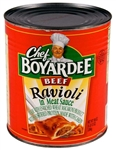 Conagra Ravioli Chef Boyardee With Tomato and Meat Sauce - 108 Oz.
