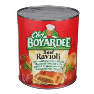Conagra Ravioli Chef Boyardee Beef Meat Sauce Child Nutrition - 108 Oz.