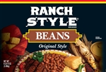Conagra Ranch Style Original Bean - 108 Oz.