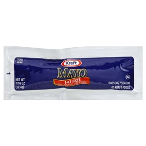 Kraft Nabisco Mayonnaise Dressing Spoonable Fat Free - 0.44 Oz.