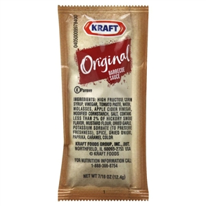 Kraft Nabisco Barbecue Sauce - 87.5 Oz.