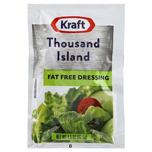 Kraft Free Thousand Island Dressing - 1.5 Oz.