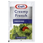 Kraft Nabisco Creamy French Dressing - 1.5 Oz.