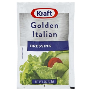 Kraft Nabisco Golden Italian Dressing - 1.5 Oz.