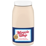 Miracle Whip Retail Label Dressing - 1 Gallon
