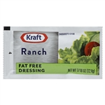 Kraft Nabisco Ranch Fat Free Dressing Pouch - 0.44 Oz.