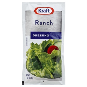 Kraft Nabisco Creamy Ranch Dressing Pouch - 2 Oz.