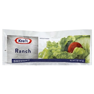 Kraft Nabisco Creamy Ranch Dressing Pouch - 1 Oz.
