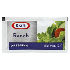 Kraft Nabisco Creamy Ranch Dressing Pouch - 0.43 Oz.