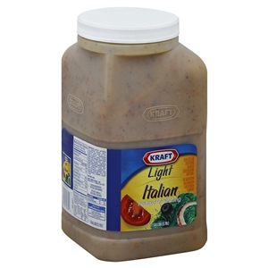 Kraft Nabisco Light Done Right Italian Reduced Fat Dressing  - 1 Gal.