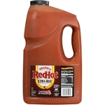Frenchs Franks Redhot Extra Hot Cayenne Pepper Sauce - 1 Gal.