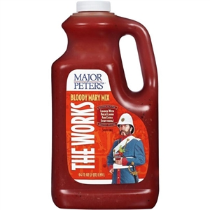 Beverage Specialties Major Peters Bloody Mary 64 oz. Works Mixer