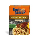 Mars Foodservice Uncle Bens Red Beans and Rice 24.9 oz.