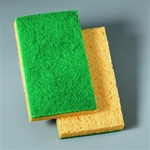 3M Niagara Medium Duty 3.5 in. x 6 in. Scrubbing Sponge