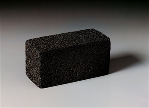 3M Black Grill Brick 3.5 in. x 4 in. x 8 in.