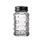 Anchor Hocking Crystal Salt and Pepper 2 oz. Glass Shaker