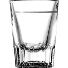 Anchor Hocking One Ounce Line Whiskey 2 oz. Short Glass