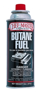 Fuel Butane Canister - 8 Oz.