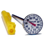Taylor Pocket Antibacterial Thermometer - 1 in. Dial