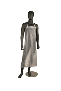 Vinyl Dishwashing Clear Apron - 36 in. x 45 in.