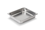 Vollrath Super Pan II Stainless Steel Half Size Steam Table Pan 2.5 in.