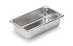 Vollrath Super Pan II Stainless Steel One Third Size Steam Table Pan 4 in.