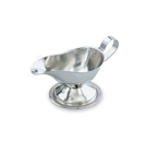 Vollrath Stainless Steel Gravy Boat Server - 3 Oz.