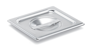 Vollrath Super Pan II Stainless Steel Flat Solid Cover One Sixth Size