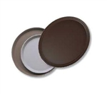 Cambro Round Plastic Serving Tray Black 14 in.