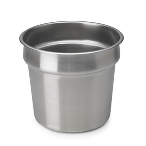 Vollrath Stainless Steel Inset Vegetable Pot - 11 Qt.