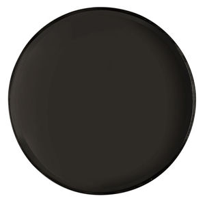 Cambro Plastic Round Serving Tray Black 16 in.