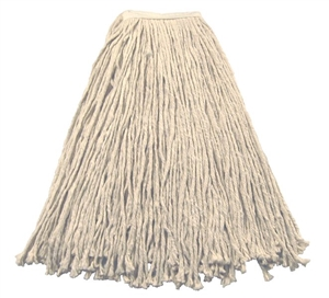 Continental Natural Cut End Mop Head 4 Ply - 24 Oz.